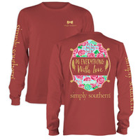 """Simply Southern """"Do Everything With Love"""" Tee"""