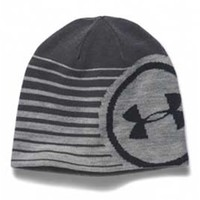 Gliks - Under Armour Billboard 2.0 Beanie for Men in True Gray Heather