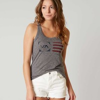 RVCA FLAG STAMP TANK TOP