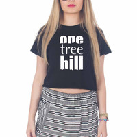 One Tree Hill For Womens Crop Shirt **