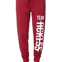 Young & Reckless Knit Jogger Pants - Womens Pants - Red
