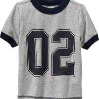 Old Navy Varsity Ringer Tees For Baby