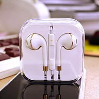 Headphones, subwoofer, earbuds, in-ear, wired, mark, wire control, mobile phone, computer, MP3 universal