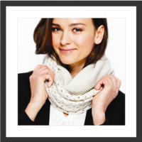 Double Knit Infinity Scarf | 3 Colors