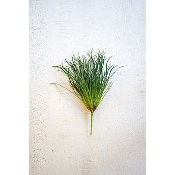 Set Of 6 Artificial Grass Stems