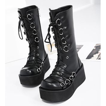 The Goth Stomper Boots