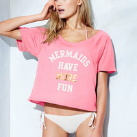 Graphic Off-the-shoulder Tee - Everyday Tees - Victoria's Secret