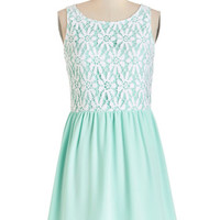 ModCloth Pastel Mid-length Sleeveless A-line The Sea and Me Dress