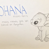 Lilo and Stitch Stretched Canvas by Elyse Notarianni