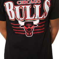The Chicago Bulls Tee in Black