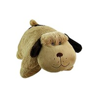 Pee Wee Genuine Pillow Pet PUPPY DOG Small 11 INCH (Soft Plush Cuddly Folding Animal)