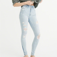 Womens High-Rise Super Skinny Jeans | Womens Clearance | Abercrombie.com