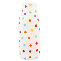Browsing Store - Polka Dot Milk Bottle 16oz