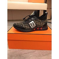 FENDI2021Men Fashion Boots fashionable Casual leather Breathable Sneakers Running Shoes06290gh