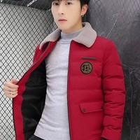 Fendi Men's Waterproof Ski Jacket Warm Winter Snow Coat Mountain Windbreaker Hooded Raincoat Sweater   Hoodies Jacket Coat