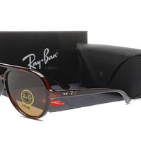Ray-Ban RB4125 Cats 5000 Aviator Sunglasses Classic