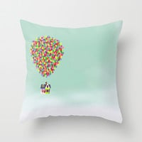 Up Throw Pillow by Derek Temple