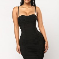 Soul Mate Search Dress - Black