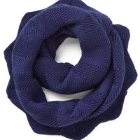 ModCloth Snuggled Up in Sweetness Scarf in Cobalt