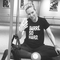 Barre So Hard T-Shirt in Black