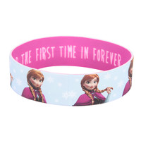 Disney Frozen Anna For The First Time In Forever Rubber Bracelet