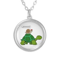 Snail & Turtle - Turbo Duo Necklaces