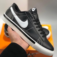WMNS NIKE BLAZER LOW PRM cheap Mens and womens nike shoes
