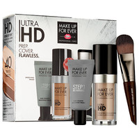 Ultra HD Foundation + Smoothing Skin Equalizer Customizable Set - MAKE UP FOR EVER | Sephora