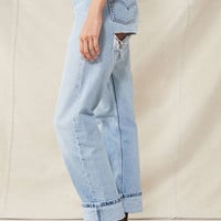 Urban Renewal Recycled Shredded-Back Levi's Jean | Urban Outfitters