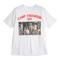 CAMP Picture Print T-Shirt (Ivory) | STYLENANDA