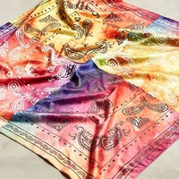 Quad Tie-Dye Bandana | Urban Outfitters