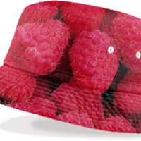 Raspberries Bucket Hat created by ErikaKaisersot | Print All Over Me