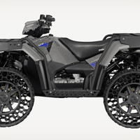 The First ATV With Airless Tires