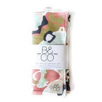 Burp Cloth Coral Jubilee
