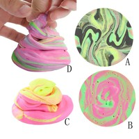 Kids Vent clay toys colorful Mud Fluffy Floam Slime Scented Stress Relief No Borax Kids Toy Sludge Toy Drop shipping