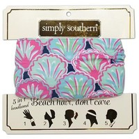 Seashell 5 in 1 Headband | Simply Southern
