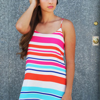 Tropical Wave Dress
