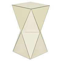 Voguish Mirrored Side Table