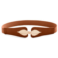 ModCloth Leaf for the Day Belt in Cognac