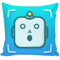 Shots Comedy App Pillow