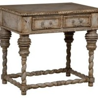 One Kings Lane - That Rustic Touch - Castle Side Table