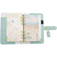 Light Teal Color Crush Personal Planner Kit with 18months Calendar-Webster's Pages-PRE-ORDER ONLY