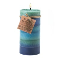 Soothing Aroma Pillar Candle 3x6
