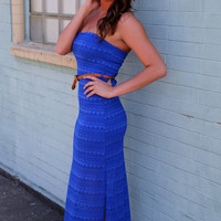 Sweet-Heart Maxi in Royal