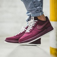 PEAP1 Nike Air Force 1 Low Night Maroon 820266-604 Running Sport Casual Shoes Sneakers