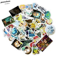49Pcs/bag American Drama New Rick and Morty Funny Sticker Decal For Car Laptop Bicycle Motorcycle Notebook Waterproof Stickers