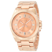 Juicy Couture 1900927 Women's Stella Swarovski Crystals Rose Gold Dial Rose Gold Steel Watch