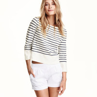 Boat-neck Top - from H&M