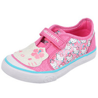 Hello Kitty GirlsGlittery Kitty Sneakers (Toddler Sizes 6 - 12)-ked01233