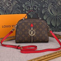 Louis Vuitton Lv Monogram Canvas Fashion Show Handbag Inclined Shoulder Bag #12251 - Best Deal Online